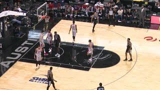 Zhou Qi Posts 16 points & 10 rebounds vs. Austin Spurs