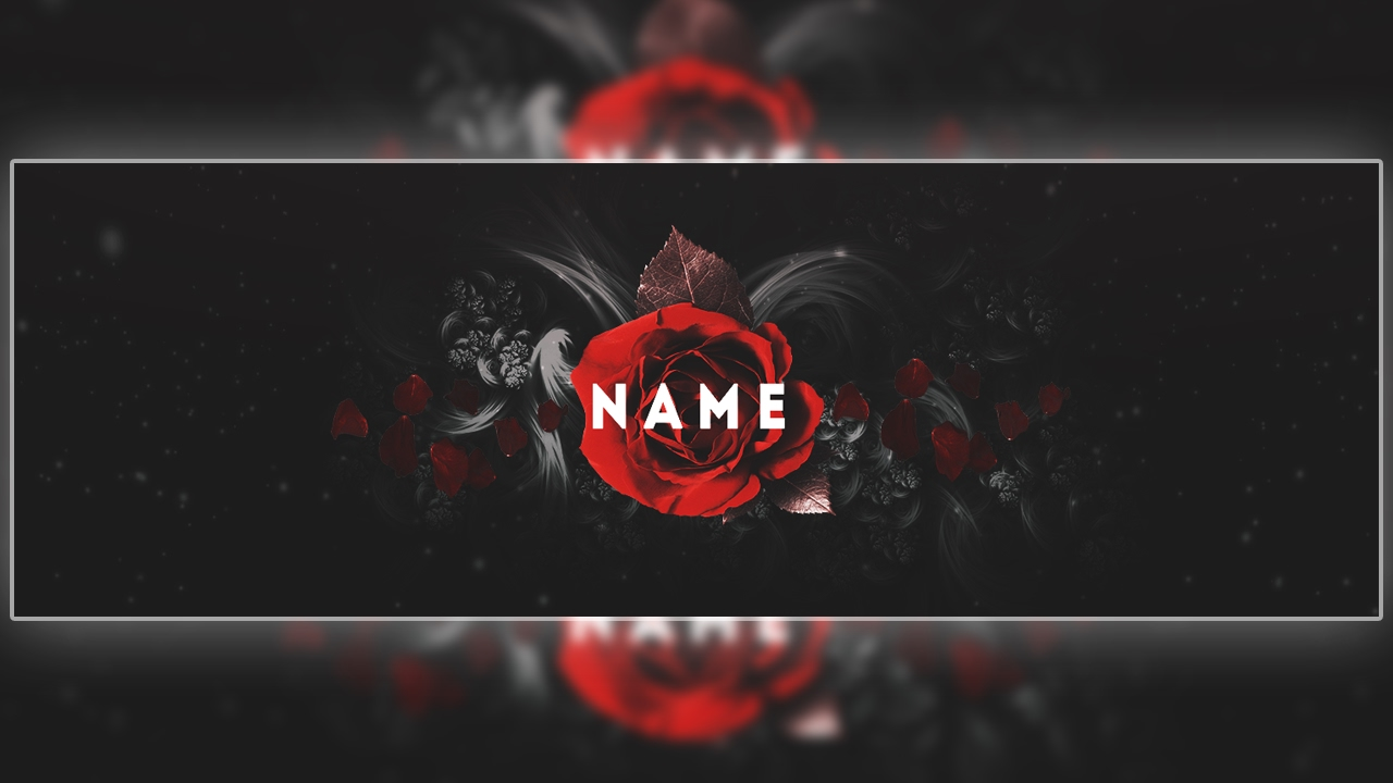 Twitter Header Template Psd Free Download Cool Rose
