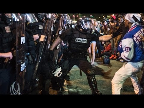 State of emergency: Charlotte violence erupts