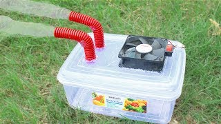 How To Make Powerful Air Cooler At Home - DIY Air Conditioner