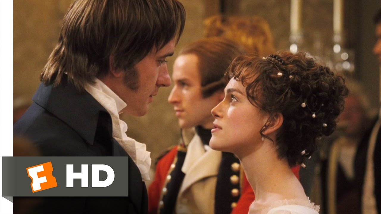 Pride Prejudice 3 10 Movie Clip Elizabeth And Darcy S Dance