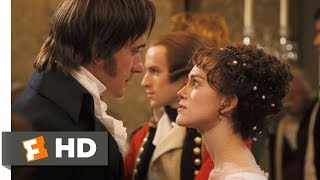 Pride & Prejudice (3/10) Movie CLIP - Elizabeth and Darcy's Dance (2005) HD thumbnail