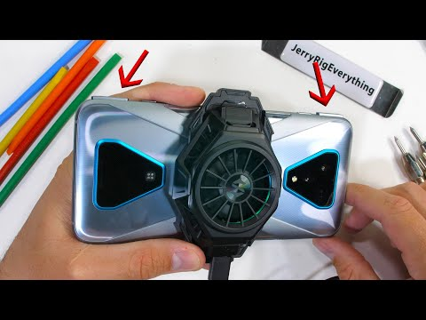 Pop-Up Buttons AND Active Cooling?! - Black Shark 3 Pro Durability Test!