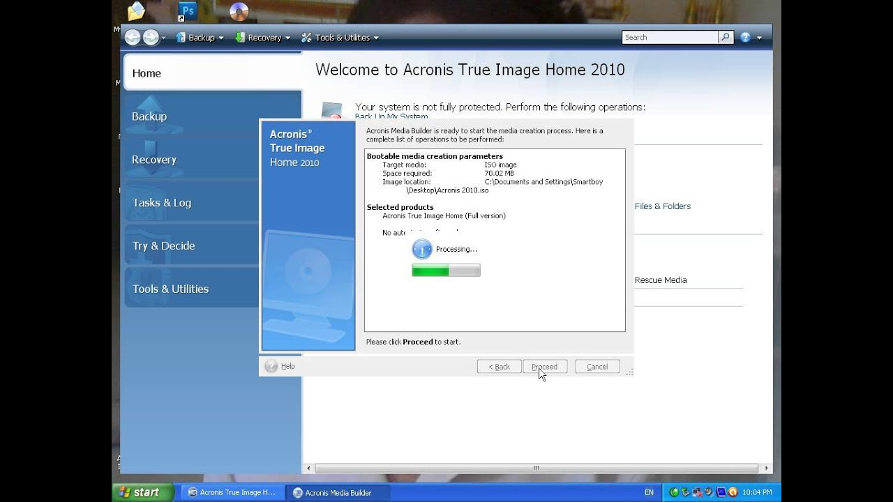 acronis 2016 bootable media download