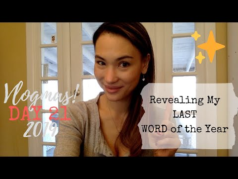 """Revealing My LAST """"One Word"""" - Yearly Planning - And Why I Won't Be Doing This Anymore"""