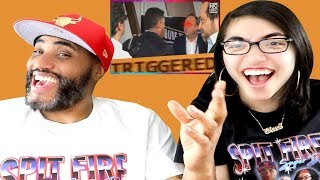 People Getting TRIGGERED Compilation REACTION