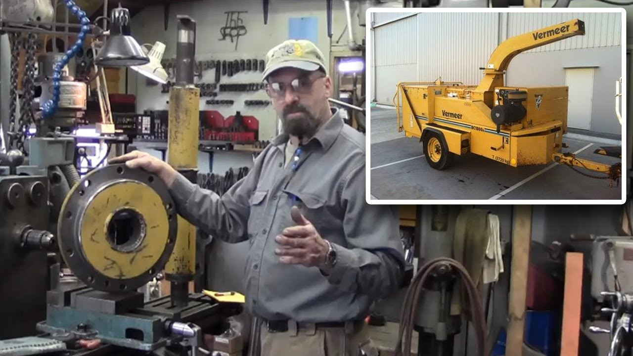 Wood Chipper Clutch Replacement : The broken beaver part wood chipper repair youtube
