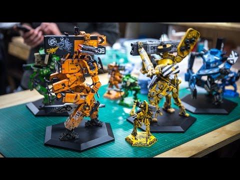 "Adam Savage Checks Out Weta Workshop's ""Giant Killer Robots"""