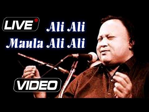 Nusrat Fateh Ali Khan : Ali Ali Maula Ali Ali | Live Concert | Popular Qawwali | Ibaadat
