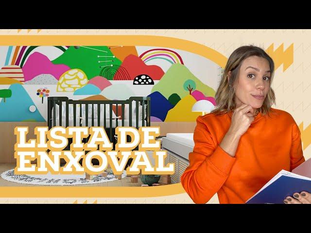 LISTA DE ENXOVAL DE BEBÊ | MATERNIDADE | Go Deb