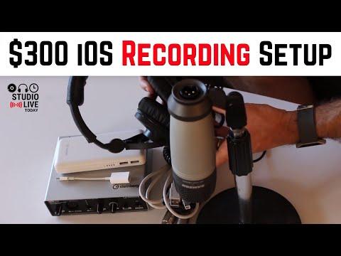 Affordable iPad/iPhone Studio Setup for High Quality Recording
