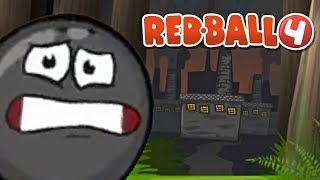 Red Ball 4 - FDG Mobile Games GbR Deep Forest 30 ~ Box Factory 31-33 Walkthrough New Map