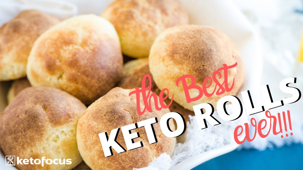 This Secret Ingredient Makes The Best Keto Rolls Gluten Free Fluffy Delicious Youtube