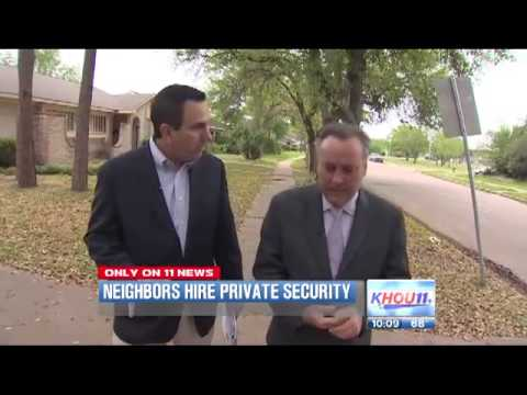 Houston Neighborhood Turns To Private Security Firm For Protection