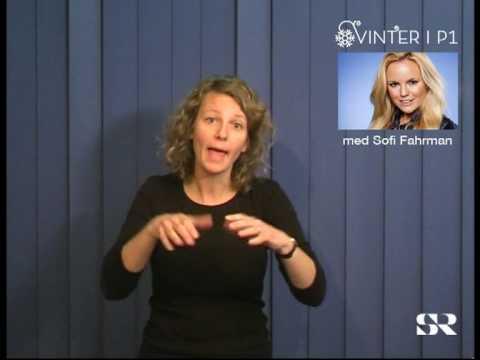 SR P1: Vinter med Sofi Fahrman, del 2 av 4