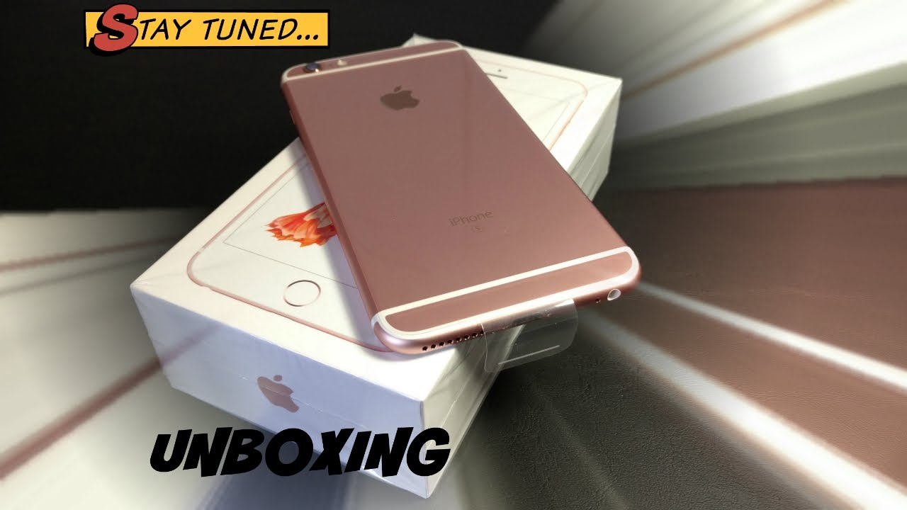 the iphone 6s rose gold