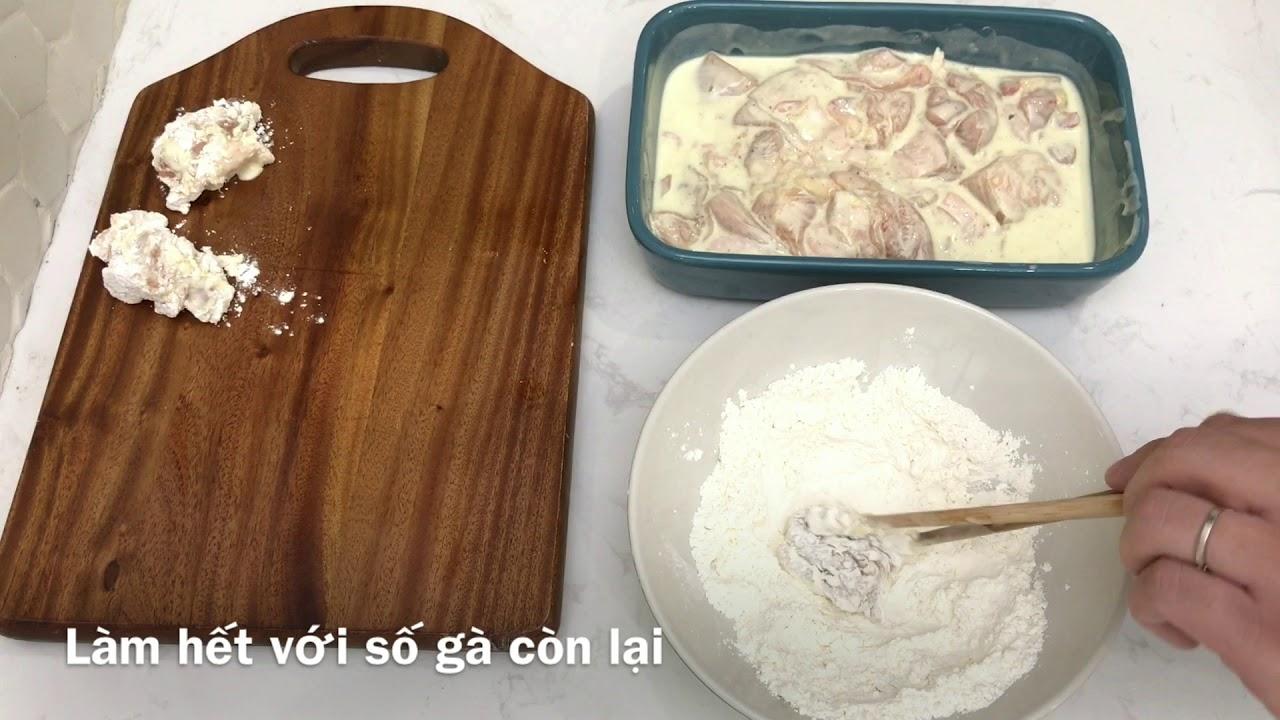 [Cook01] Gà rán Hàn Quốc đơn giản   Gia Đình CAMCAM