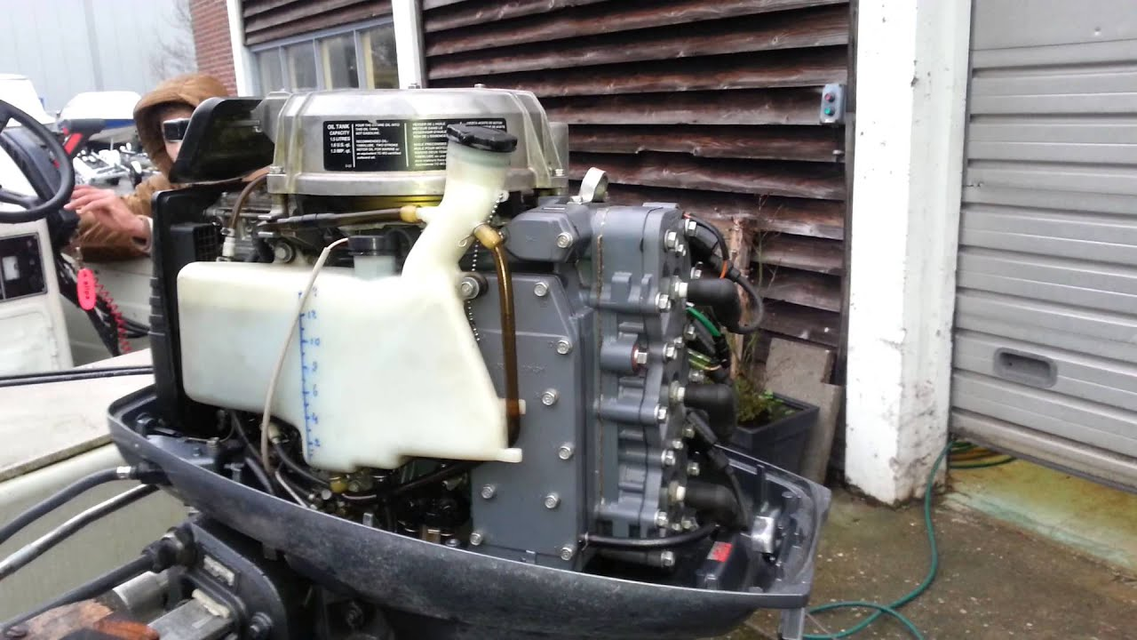 Yamaha 40 hp 2 stroke 3 cylinder 2001 youtube for Yamaha 30hp 2 stroke