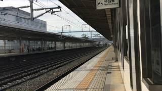 新幹線 上り豊橋駅ホーム こだま到着 〜それだけです(^^)〜 thumbnail
