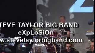 "Steve Taylor Big Band eXpLoSiOn ""Caravan"" @Ziggy"