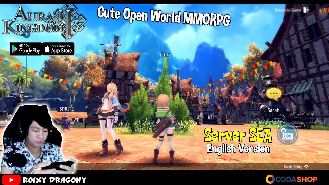 Akhirnya Server Sea Super Cute Mmorpg 2020 Aura Kingdom 2 Eng Android Mmorpg Youtube