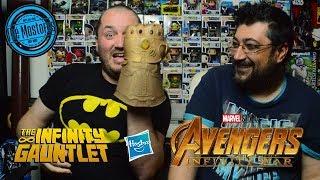 Το γάντι της μαγκιάς - Unboxing Infinity Gauntlet