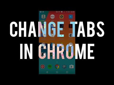 Change Tabs With Gestures In Chrome On Android