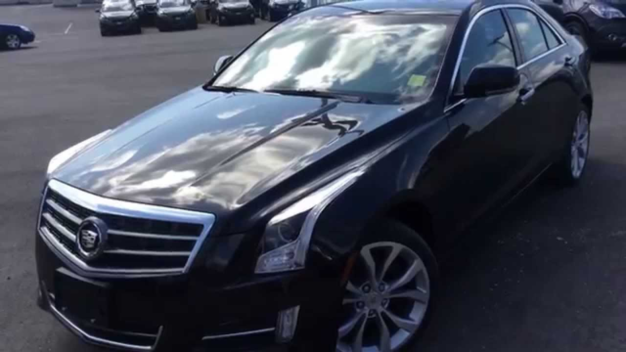 2014 Cadillac ATS Review | Boyer Pickering | 140612 - YouTube
