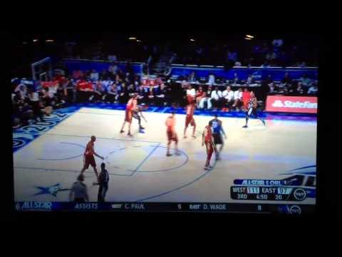 Kobe Bryant passes Michael Jordan in all-star game