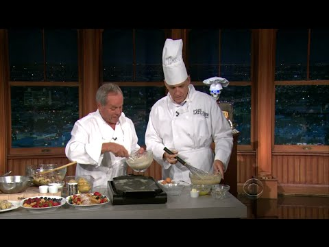 Late Late Show with Craig Ferguson 9/7/2011 James Marsden, Wolfgang Puck