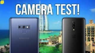 Samsung Galaxy Note 9 vs OnePlus 6: Camera Comparison!