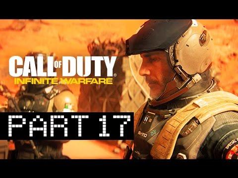 Call of Duty Infinite Warfare Walkthrough Part 17 - Mars Landing (Let's Play)