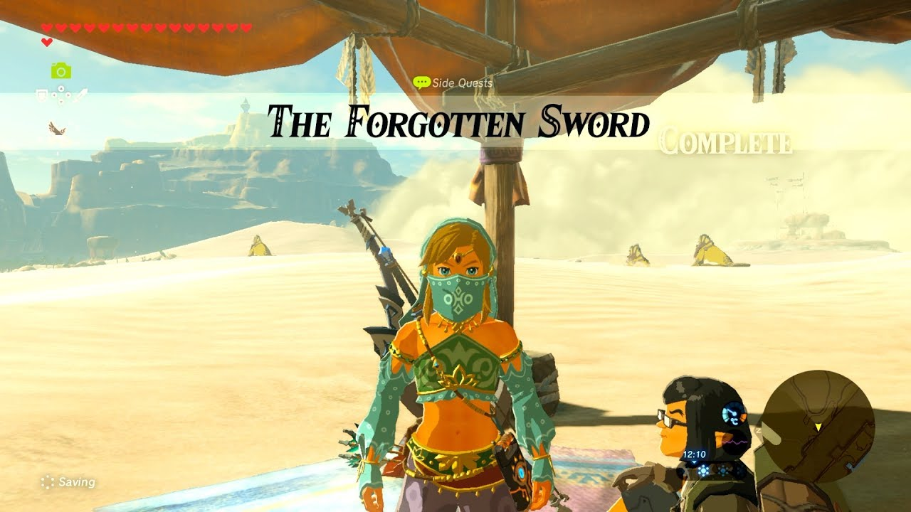 Zelda: BOTW (The Forgotten Sword) Side Quest