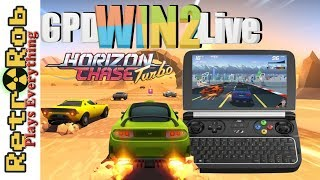 GPD WIN2 Live: Horizon Chase Turbo --  Retro Inspired Racing!