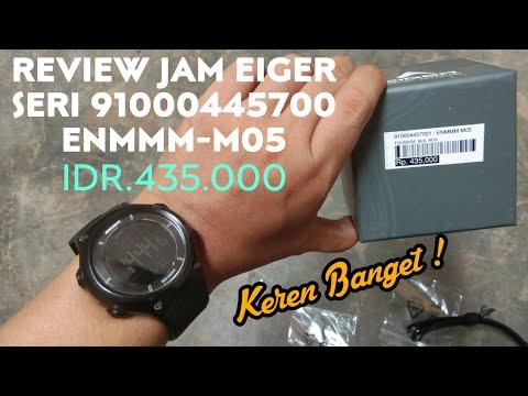 Review Jam Tangan EIGER Terbaru 2019 ENMMM-M05 Mantab Banget Jamnya
