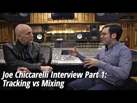 Joe Chiccarelli (The White Stripes, U2, Elton John, Beck) Interview Part 1: Tracking vs Mixing