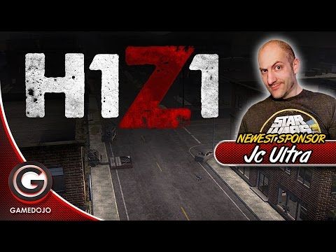 H1Z1 - King of the Kill with Xpadder and xbox 360 controller for first time live