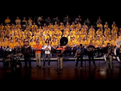 Kettle Moraine High School Pep Band November 21, 2019