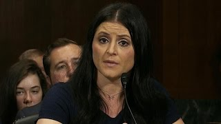 Former gymnasts testify about sexual abuse scandal