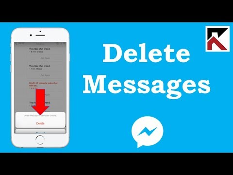 How To Delete A Message In Facebook Messenger iPhone