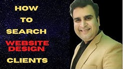 How to search website design clients | Hindi | part-1