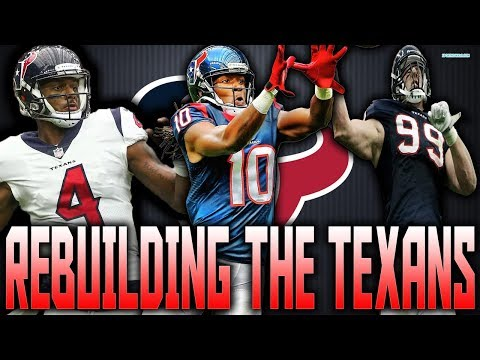 AMAZING DEFENSE!! TEXANS REBUILD!! MADDEN 18 REBUILD
