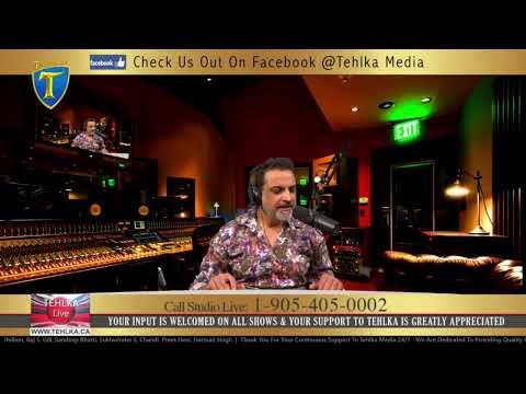TEHLKA TV & RADIO LIVE / WITH AMAR S. PADDA ON SEP 16 2020