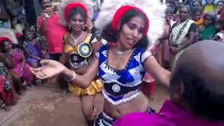 KUMBAM DANCE IN KULASAI DASARA FESTIVAL WITH TAMIL COMEDY ACTOR