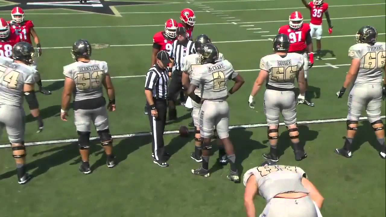 Georgia Vs Vanderbilt Full Football GAME HD 2015