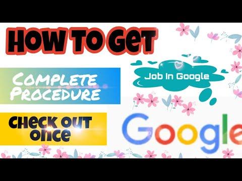 How to get job in google hyderabad