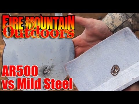 AR500 vs Mild Steel Target Shootout! : Is AR500 worth the cost?  Is shooting mild steel dangerous?