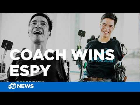 Tony Sandoval on The Breeze - San Jose Football coach born with NO arms or legs to receive award at ESPYS