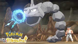 Pokémon Let's Go Pikachu & Eevee - Gameplay Walkthough Part 11 - Rock Tunnel