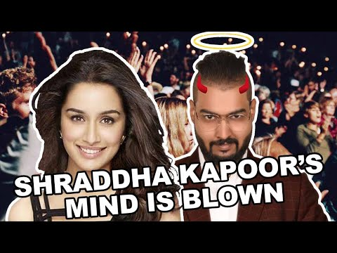 SHRADDHA KAPOOR's reaction is pure MAGIC...TRICKY TUESDAY #2